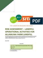 Land Fill operation