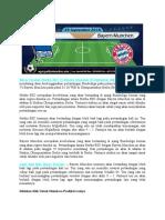 Bursa Taruhan Hertha BSC vs Bayern Munchen 29 September 2018