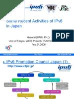 20060221 IPv6 Forum WorldCongress Japan