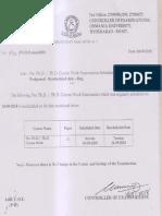 Pre Phd.resheduled o.u
