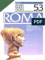 Muñiz Coello Joaquin - Akal Historia Del Mundo Antiguo 53 - Roma - Las Finanzas Publicas Del Estado Romano Durante El Alto Imperio