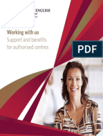 Authorised Centre Support and Benefits Brochure