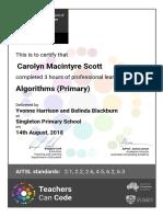 tcc-algorithms  primary -carolyn macintyre scott-certificate