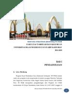 Rencana Strategi PS PGMI 2014-2018