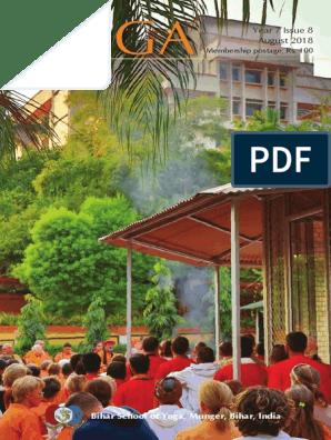 Magazine - Bihar School of Yoga August 2018 | Parkinson's