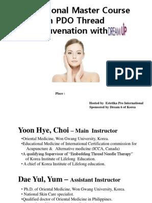 ppt treadlift pptx | Skin | Acupuncture