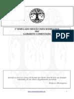 Gabarito comentado PRF
