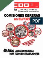 Revista Ccoo Elpozo Elecciones 2018 PDF
