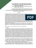 Jurnal Variasi Genetik Gen MSP-1, MSP-2, Dan Glurp Terjemahan