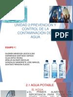 Unidad 2. Prevención y Control de La Contaminación Del Agua