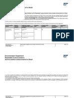 Service Taxation Enhancements for Brazil