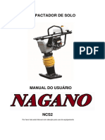 Manual Compactador Solo