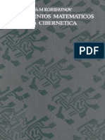 Fundamentos Matematicos de La Cibernetica