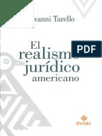 TARELLO El realismo jurídico.pdf