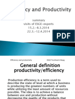 Efficency and Productivity PPT