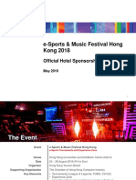 Esports and Music Festival 2018 - Hotel Sponsorship Proposal_20180525
