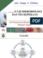 5. Peran Uji Mikro Dan Tes Kepekaan Aceh 2015