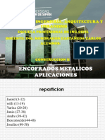 ENCOFRADOS METALICOS.
