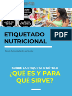 Etiquetado Nutricional