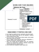 La Conjuncic3b3n Cum y Sus Valores