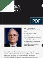 Buffett, Razon Entrep