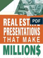Presentation That Make Miliion$