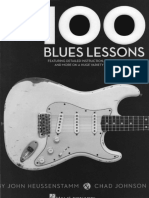 blues 100 licks para treino
