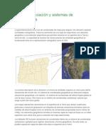Georreferenciación y Sistemas de Coordenadas