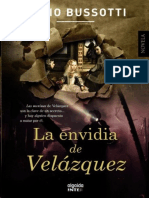 La envidia de Velazquez - Bussotti, Fabio.epub