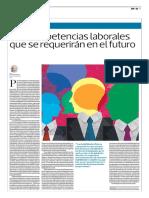 Las Competencias Laborales Que Se Requerirán en El Futuro