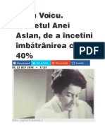 Ana Aslan, Gerovital 23.09.18