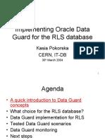 KP Data Guard for RLS