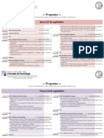 Jornadas Programa