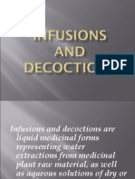 Infusions and Decoctions