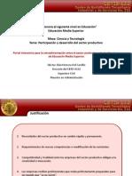 Portal Interactivo Educacion Media Superior