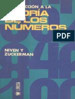 Introducción a La Teoría de Números - Ivan Niven & Herbert S. Zuckerman - 2ed
