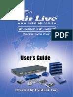 AirLive WL-5450AP Manual