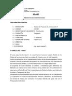 Clases Sílabo (15-2)