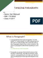 Understanding Paragraph