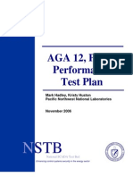AGA 12 Part 2 Performance Test Plan