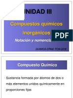 3-UNIDAD III. -Compuestos químicos. Notación y nomenclatura._