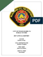 Wbfd 2017 Annual Report
