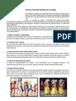 Beneficios de La Historia Musical en La Danza