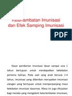 Keterlambatan Imunisasi dan Efek Samping Imunisasi.pptx