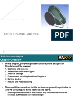 Analisis Estatico en ANSYS
