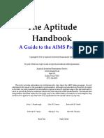 The Aptitude Handbook