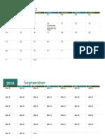 Calendario Académico (Cualquier Año)1