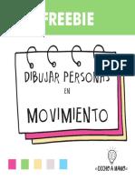 Dibujar Figuras y Personas en Movimiento