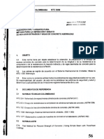 NTC 3658 Obtención y Ensayo de Núcleos de Concreto
