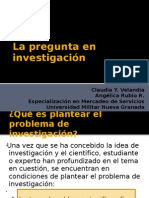 Pregunta-investigacion